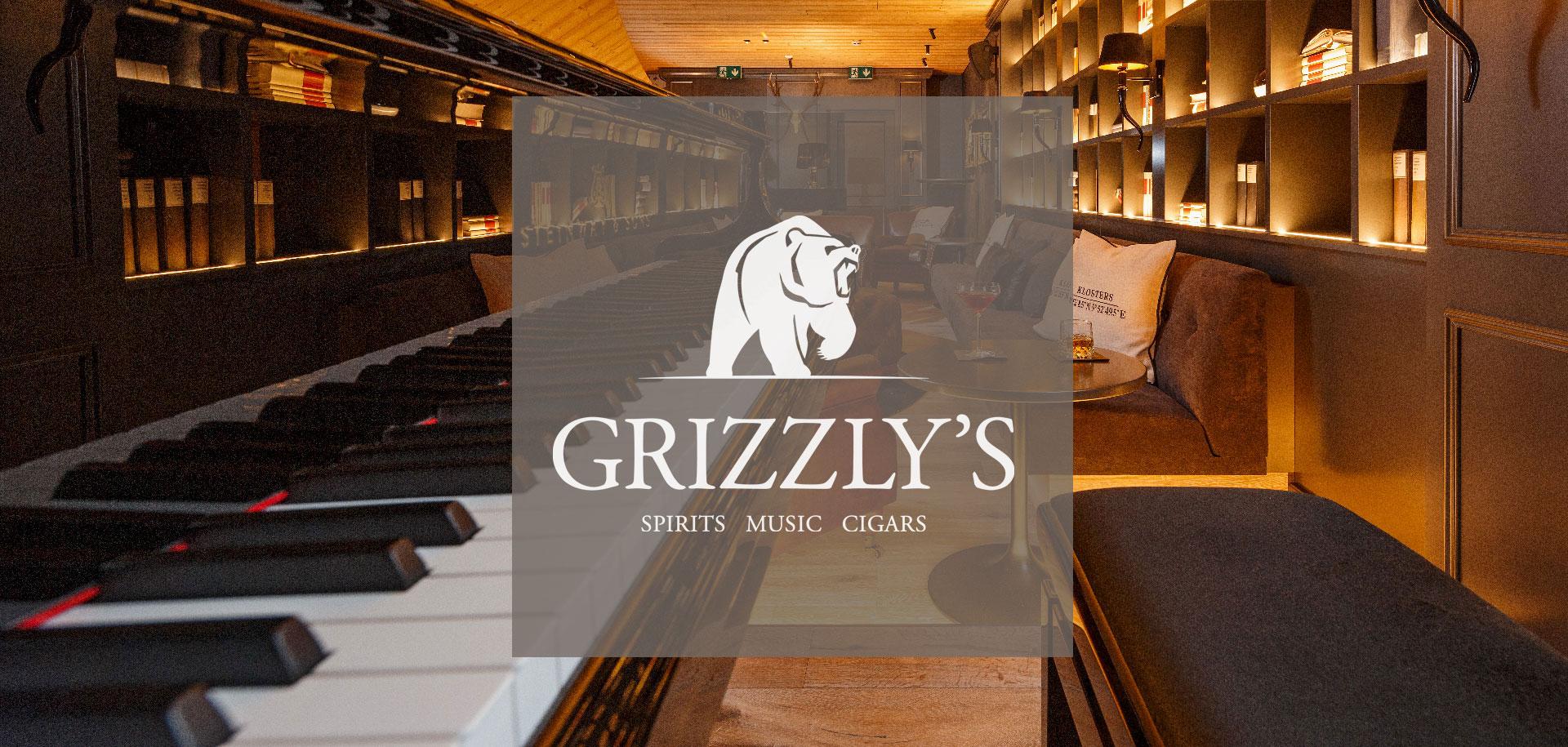 Logo für Grizzly's Bar Hotel Piz Buin Klosters by uniik.com