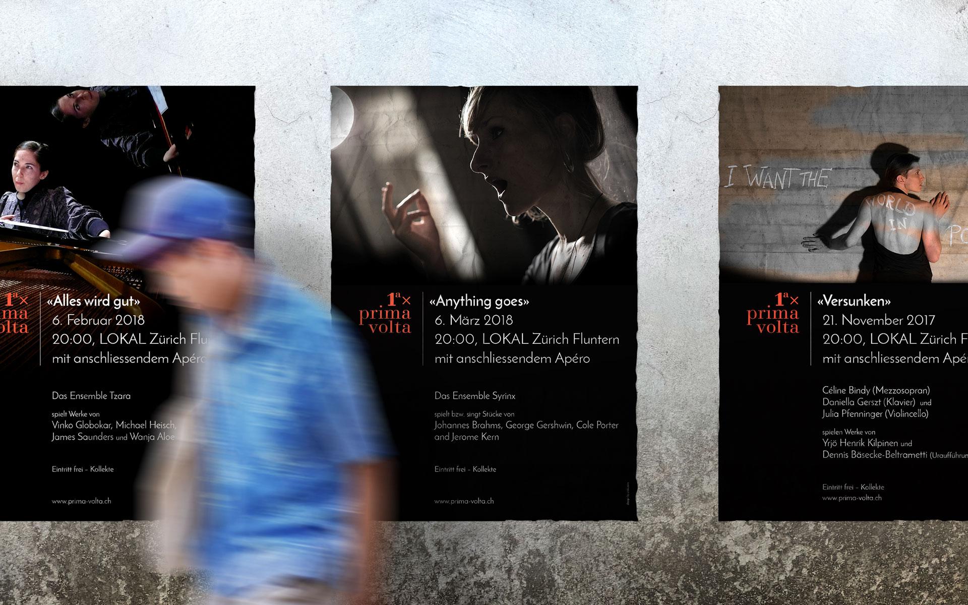 Prima Volta Junge Musik Zürich Plakate by uniik.com